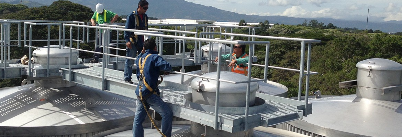 Cervecería Costa Rica Ampliación de Tanques